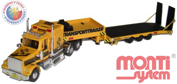 MONTI SYSTÉM 46 Auto WS TRANSPORT TRAILER MS46 0107-46