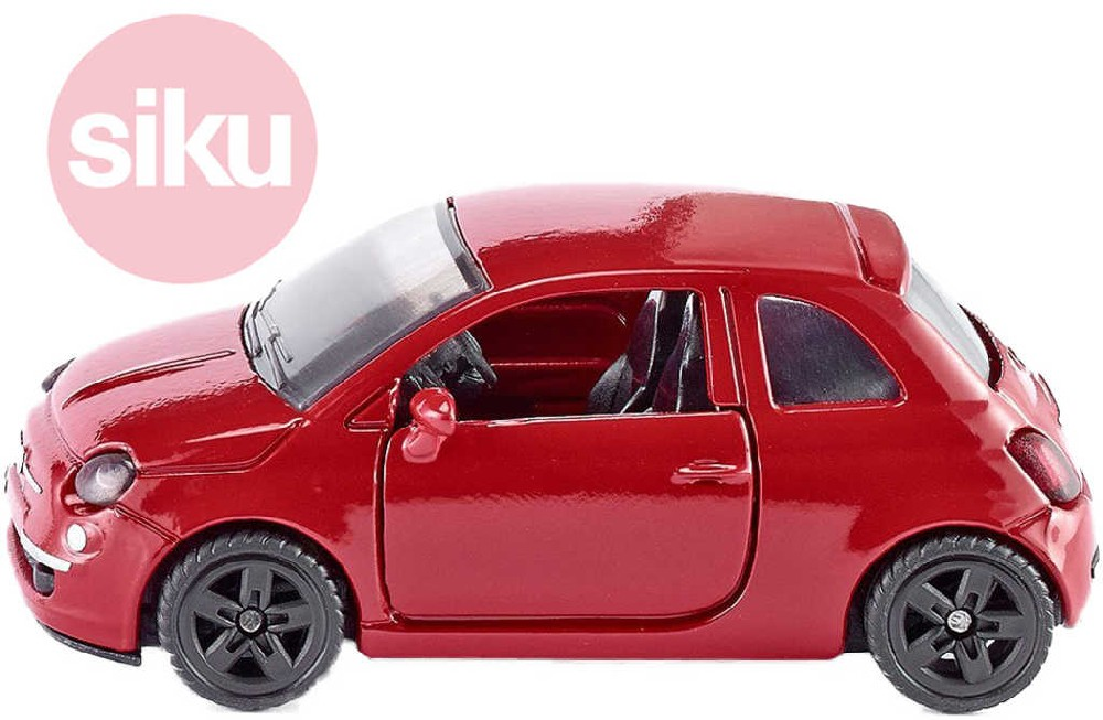 SIKU Model auto Fiat 500 1:55 kovový model 1453